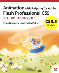 CS5.5 Update: Animation with Scripting for Adobe Flash Professional CS5 Studio Techniques