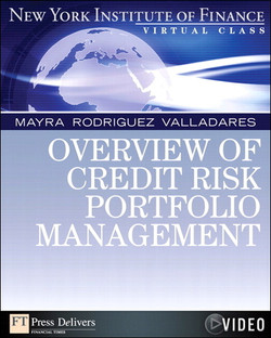 Overview of Credit Risk Portfolio Management: New York Institute of Finance Virtual Class