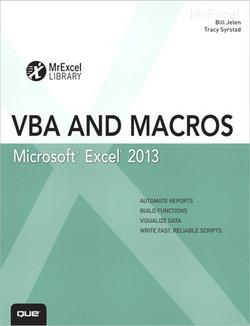 Excel® 2013 VBA and Macros
