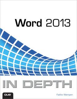 Word 2013 In Depth