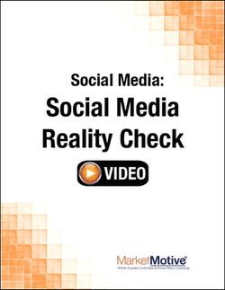 Social Media: Social Media Reality Check (Streaming Video)