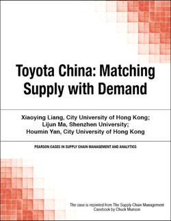 Toyota China: Matching Supply with Demand