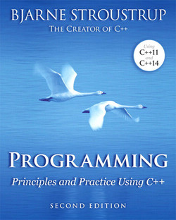 Programming: Principles and Practice Using C++, Second Edition