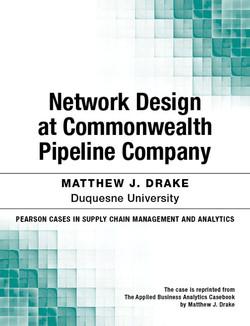 Network Design at Commonwealth Pipeline Company