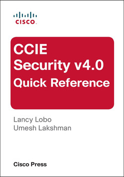 CCIE Security v4.0 Quick Reference, Third Edition
