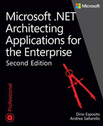 Cover of Microsoft .NET: Architecting Applications for the Enterprise, Second Edition
