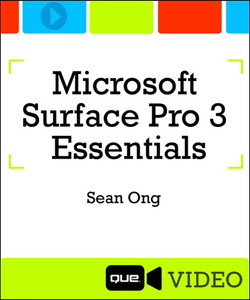 Microsoft Surface Pro 3 Essentials (Que Video)