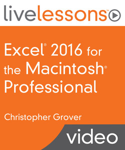 Excel 2016 for the Macintosh Professional