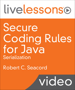 Secure Coding Rules for Java: Serialization