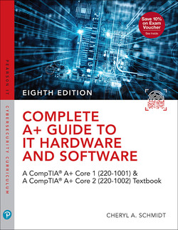 Complete A+ Guide to IT Hardware and Software: A CompTIA A+ Core 1 (220-1001) and CompTIA A+ Core 2 (220-1002) Textbook, 8th Edition