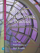 book cover: Software Architecture in Practice