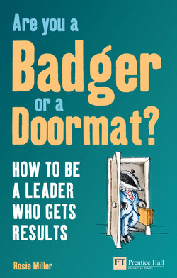Are you a Badger or a Doormat?