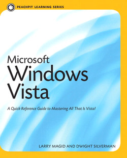 Peachpit Learning Series Microsoft Windows Vista