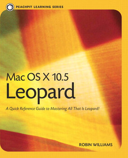Peachpit Learning Series Mac OS X 10.5 Leopard