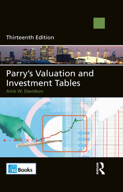 Parry's Valuation and Investment Tables, 13th Edition