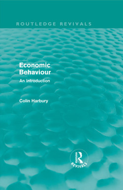 Economic Behaviour (Routledge Revivals)
