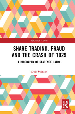 Share Trading, Fraud and the Crash of 1929