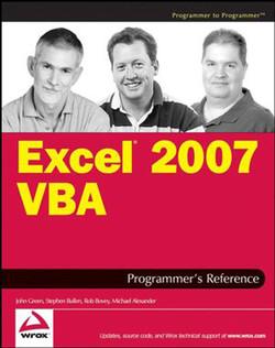 Excel® 2007 VBA Programmer's Reference