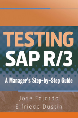 Testing SAP R/3: A Manager's Step-by-Step Guide
