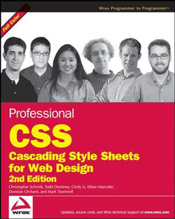 Professional CSS: Cascading Style Sheets for Web Design, Second Edition