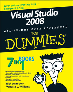 Visual Studio® 2008 ALL-IN-ONE DESK REFERENCE FOR DUMMIES®