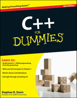 C++ For Dummies®, 6th Edition
