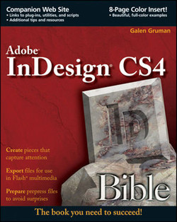 InDesign® CS4 Bible