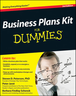 Business Plans Kit For Dummies®, 3rd Edition