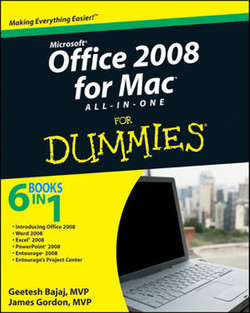 Office 2008 for Mac All-in-One For Dummies®