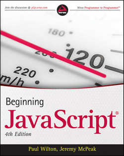 Beginning JavaScript®, Fourth Edition