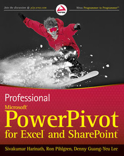 Professional Microsoft® PowerPivot for Excel® and SharePoint®