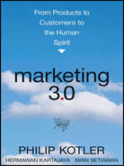 Cover of Marketing 3.0: From Products to Customers to the Human Spirit