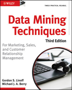 Data Mining Techniques: For Marketing, Sales, and Customer Relationship Management, Third Edition