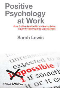 Positive Psychology at Work: