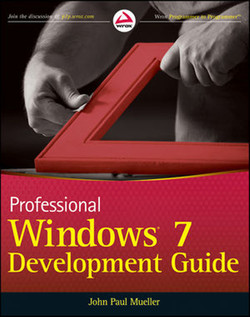 Professional Windows 7 Development Guide
