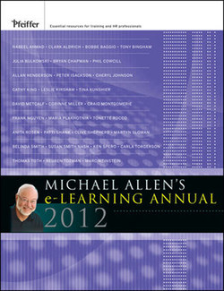 Michael Allen's e-Learning Annual 2012