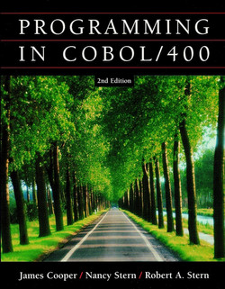 PROGRAMMING IN COBOL/400: 2nd Edition