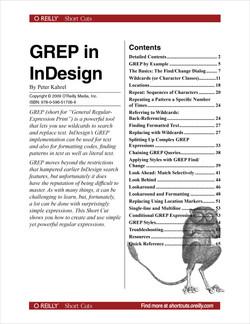 GREP in InDesign
