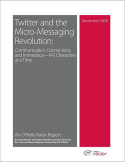 Twitter and the Micro-Messaging Revolution: Communication, Connections, and Immediacy—140 Characters at a Time