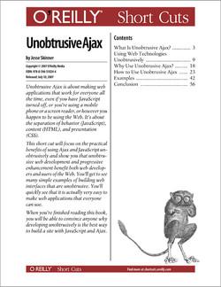 Unobtrusive Ajax