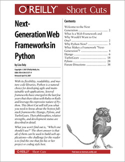 Next-Generation Web Frameworks in Python
