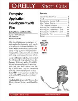 Agile Enterprise Application Development with Flex