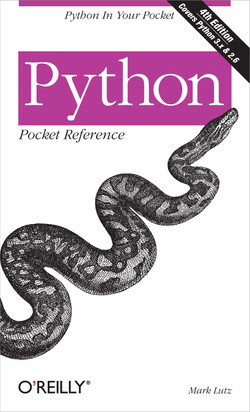 Python Pocket Reference, 4th Edition