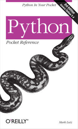 Python Pocket Reference, Third Edition