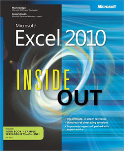 Microsoft® Excel® 2010 Inside Out