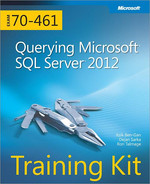 Cover of Training Kit (Exam 70-461): Querying Microsoft® SQL Server® 2012