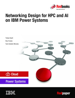 Networking Design for HPC and AI on IBM Power Systems