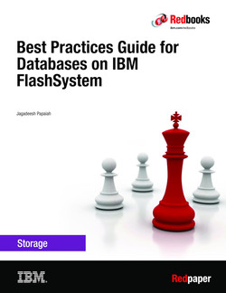Best Practices Guide for Databases on IBM FlashSystem