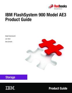 IBM FlashSystem 900 Model AE3 Product Guide