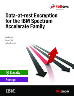 Data-at-rest Encryption for the IBM Spectrum Accelerate Family